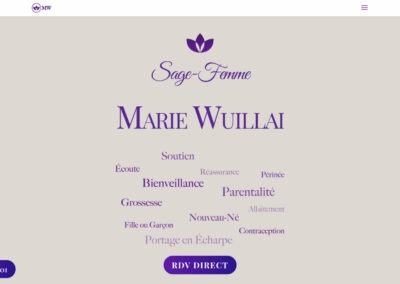 Marie Wuillai – Sage Femme
